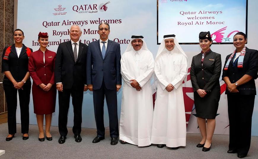 qatar airways lorgne le capital de la royal air maroc agence afrique. Black Bedroom Furniture Sets. Home Design Ideas